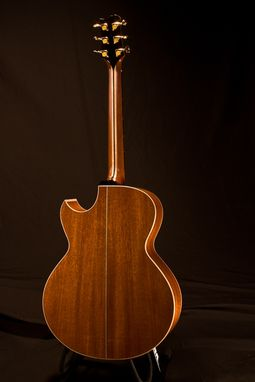 Custom Made Kwasnycia Sj Mahogany Acoustic Guitar