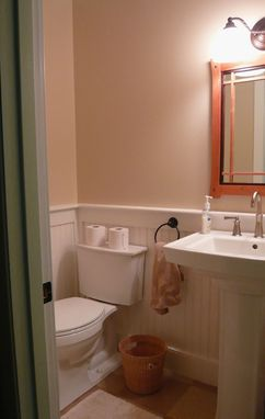 Custom Made Greene & Greene Bathroom Cabinetry
