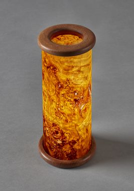 Custom Made Wood Accent Light - Honey Burl
