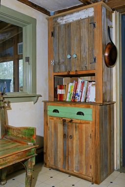 Custom Made Farmhouse Kitchen Hutch