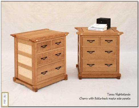 Custom Made Tansu Nightstands