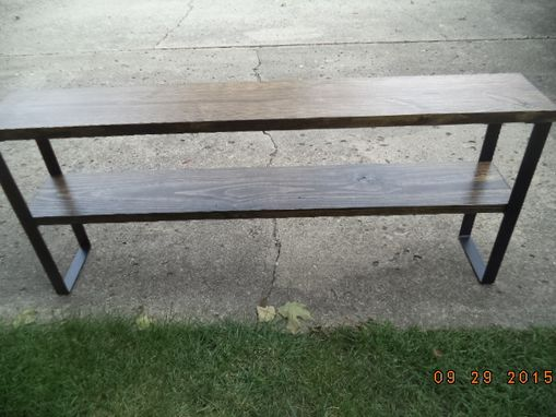 Custom Made Console Table, Sofa Table, Entryway Table