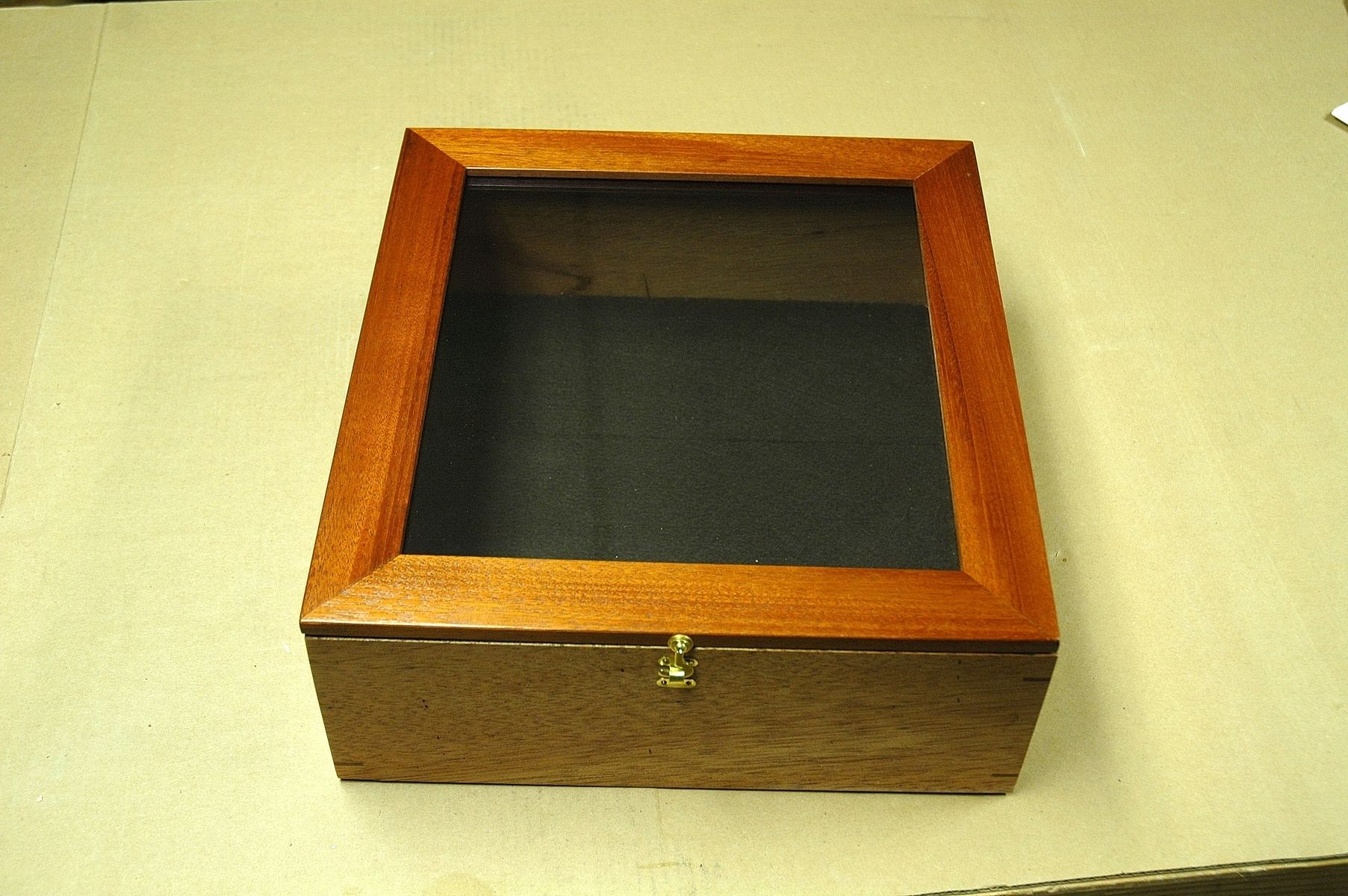 Old Book Display Case : Custom made mahogany book display box by wooden it be nice