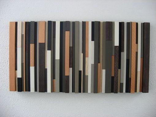 Hand Made Modern Rustic Wood Wall Art By Modern Rustic Art