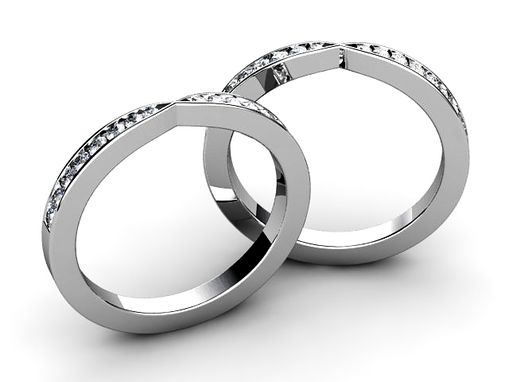 Custom Made Twin Wedding Bands