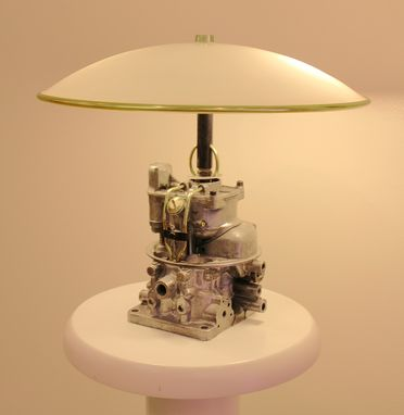 Custom Made 55 Mercury Teapot Carb Lamp