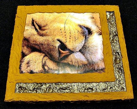 Custom Made Sleeping Lion