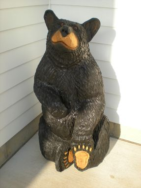 Custom Made 4 Foot Sitting Bear