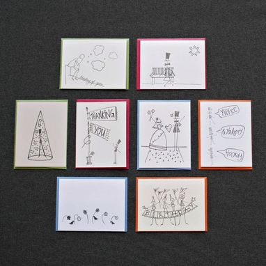 Custom Made Relax Greeting Card Set