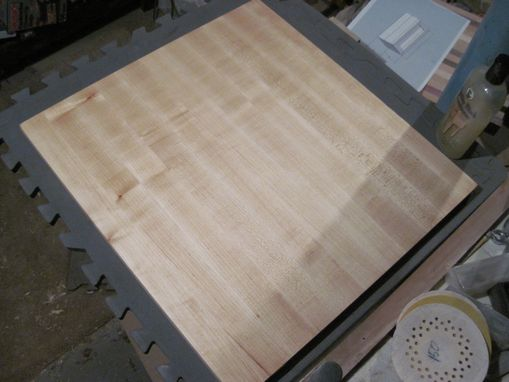 Custom Made Face Grain Cutting Board
