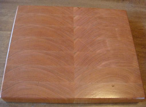 Custom Made Cherry End Grain Chopping Board, Butcher Block, Island