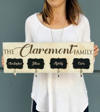 Custom Made Custom Christmas Stocking Hangers-Crchalk-Wwash-Claremont