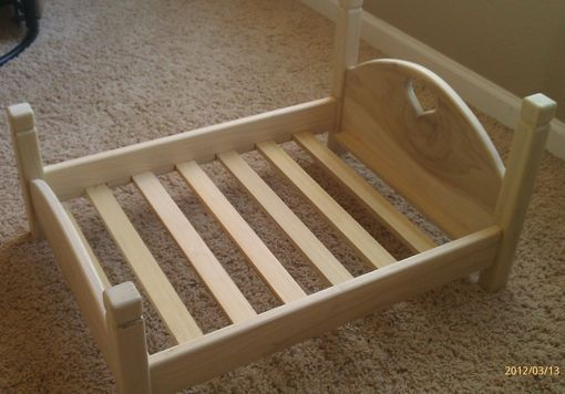 Custom Made Doll Bed