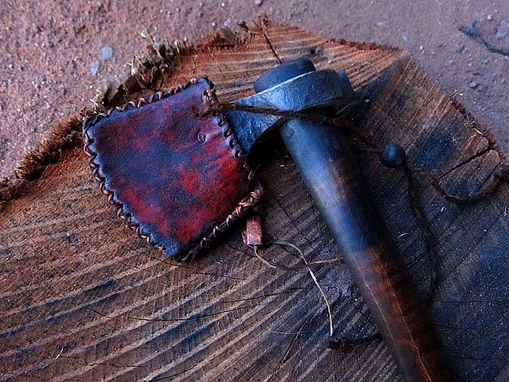 Custom Made Tomahawk From Solid Piece Of 5160 Tool Steel