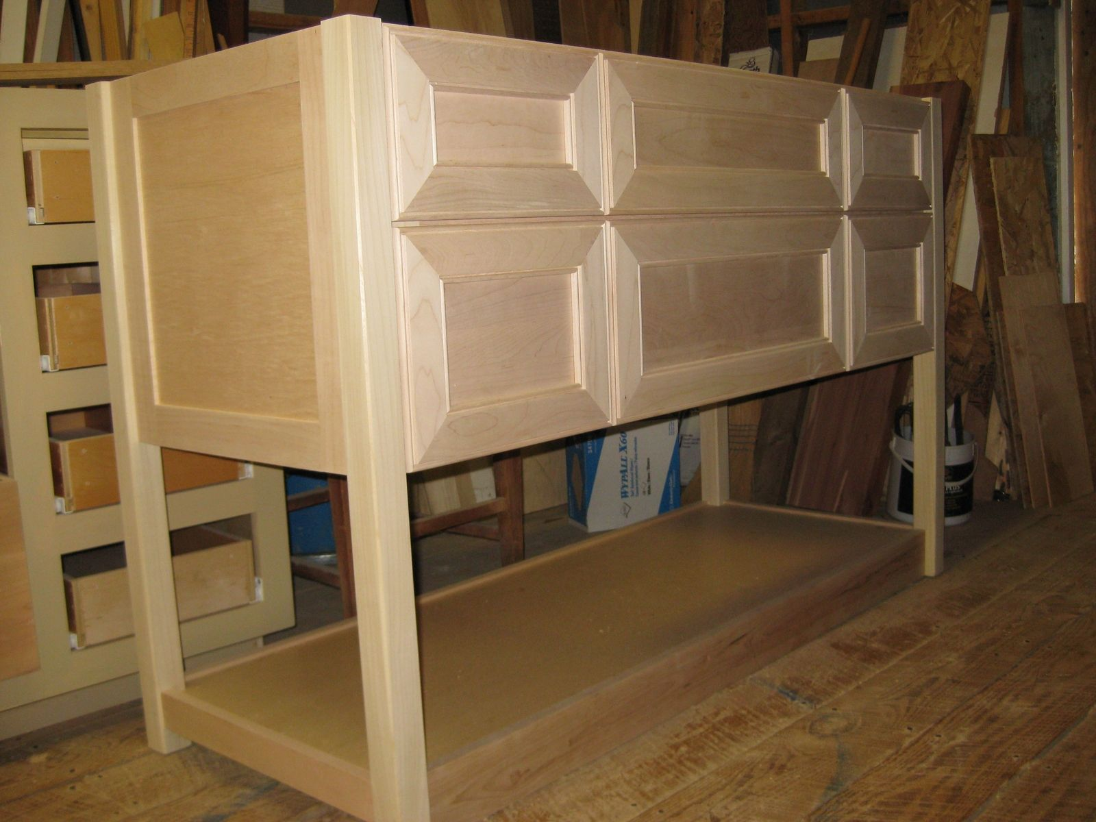 Handmade Unfinished Cabinets by Ken Witkowski Enterprises