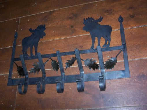Custom Made Moose Coat Rack