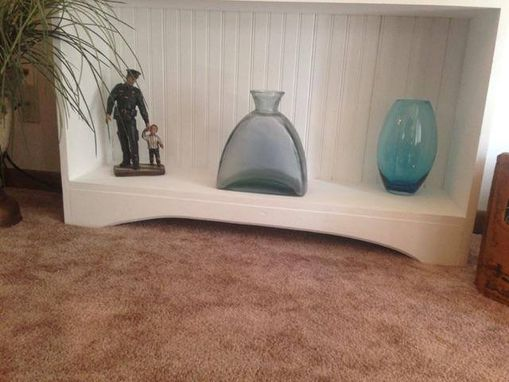 Custom Made Beaded Board Bookcase