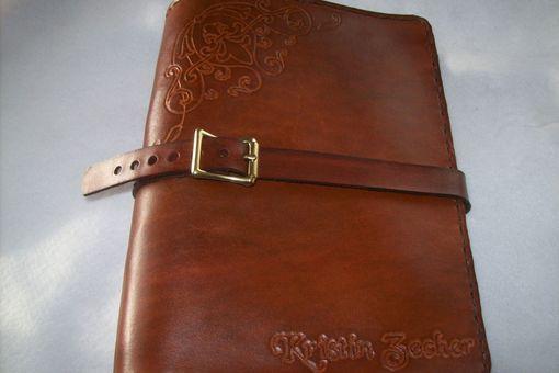 Custom Leather Business Card Binder