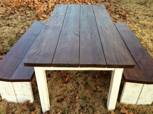 Custom Made Farmhouse Style Dining Table