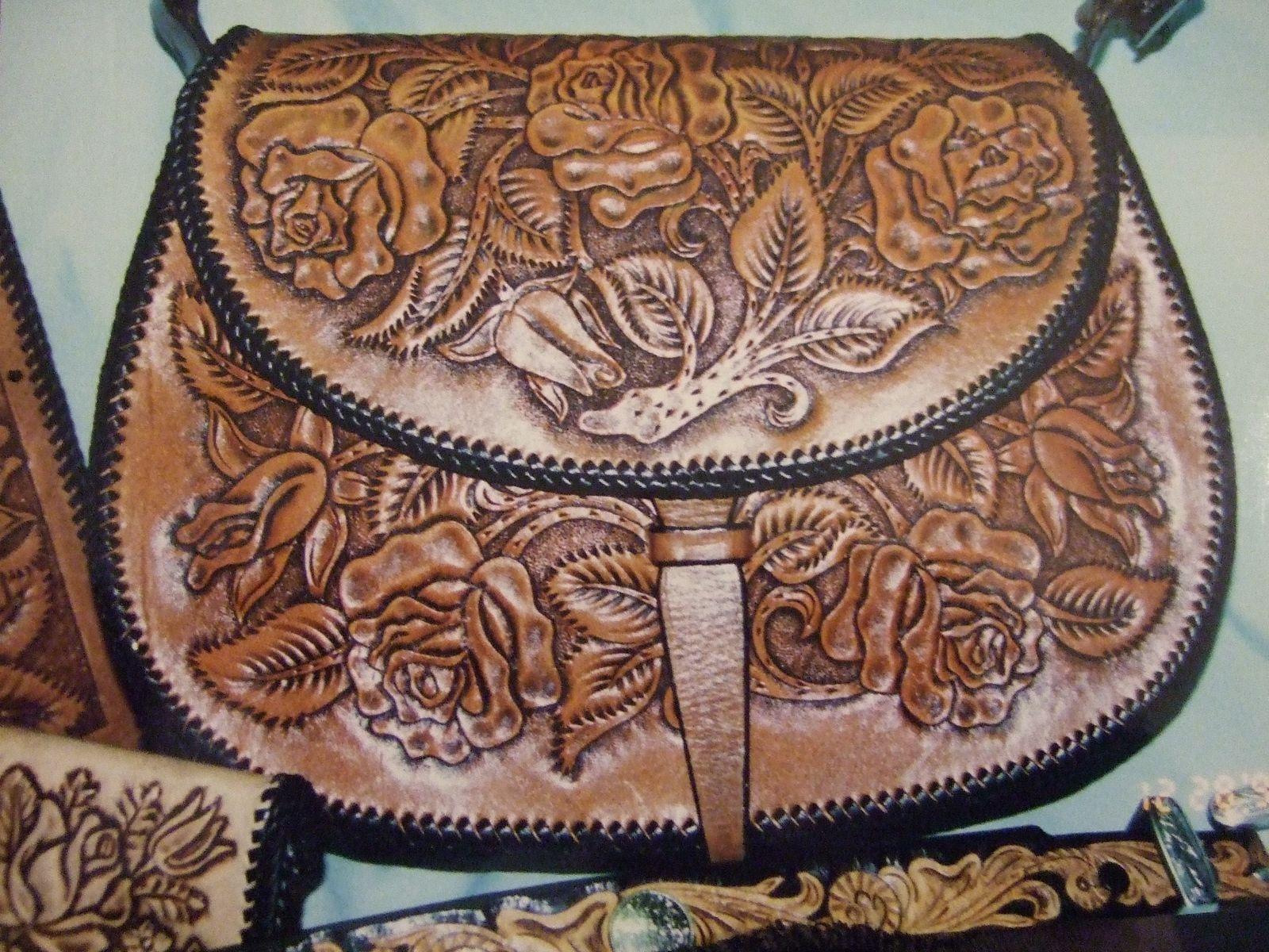 Custom Made Hand Tooled Purse