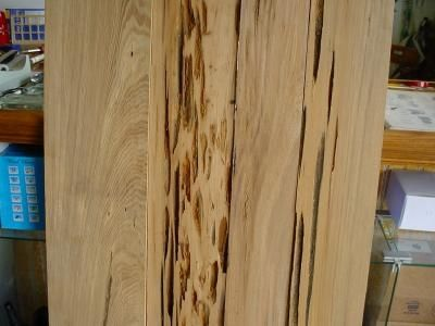 Custom Made Pecky Cypress All Straight Edge Planed 1 Side 5ft Long