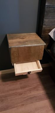 Custom Made Floating Nightstands