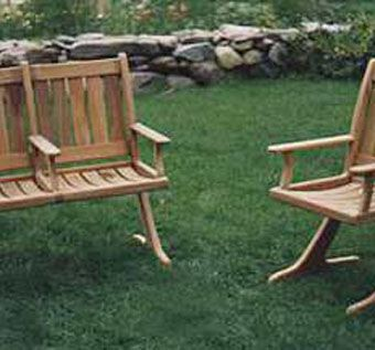 Custom Made Solid Teak Chairs