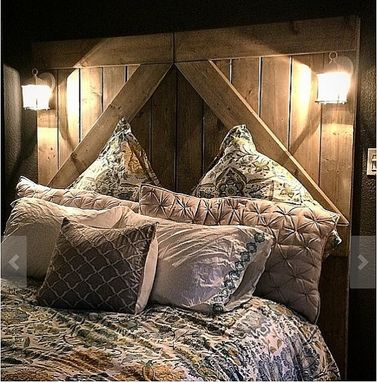 Custom Made Rustic // Barn Door // Headboard // Divider Doors // Home // Rusic Decor // Rustic Furniture