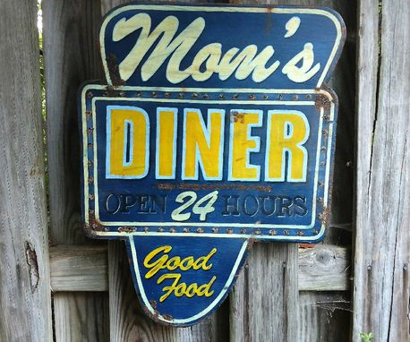 Custom Made Replica • Vintage • Diner Signs