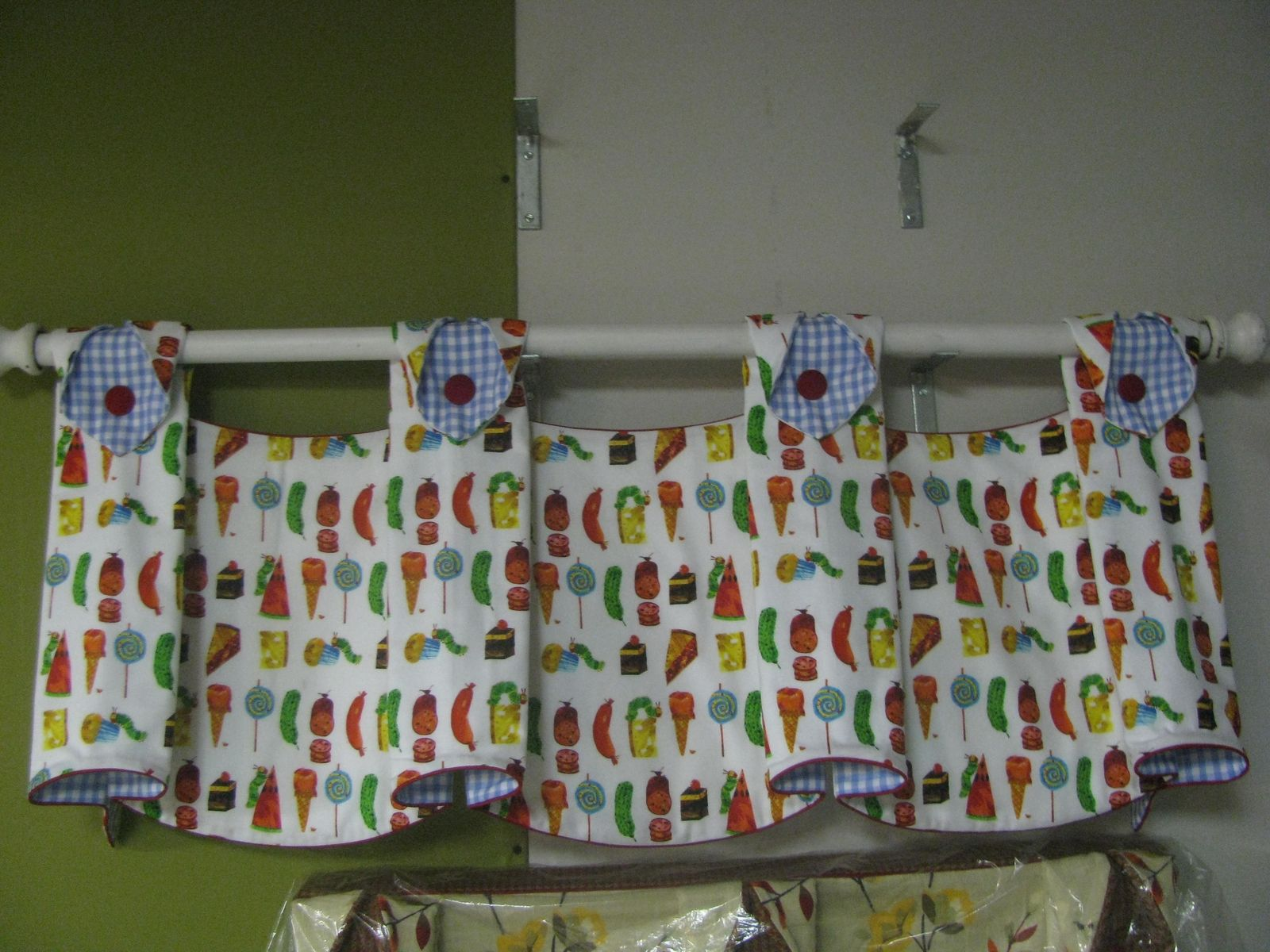 Hand Crafted Valance And Or Curtains Based On The Very