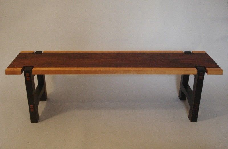 Handmade Long Coffe Table - Sapele And Beech by Makeville