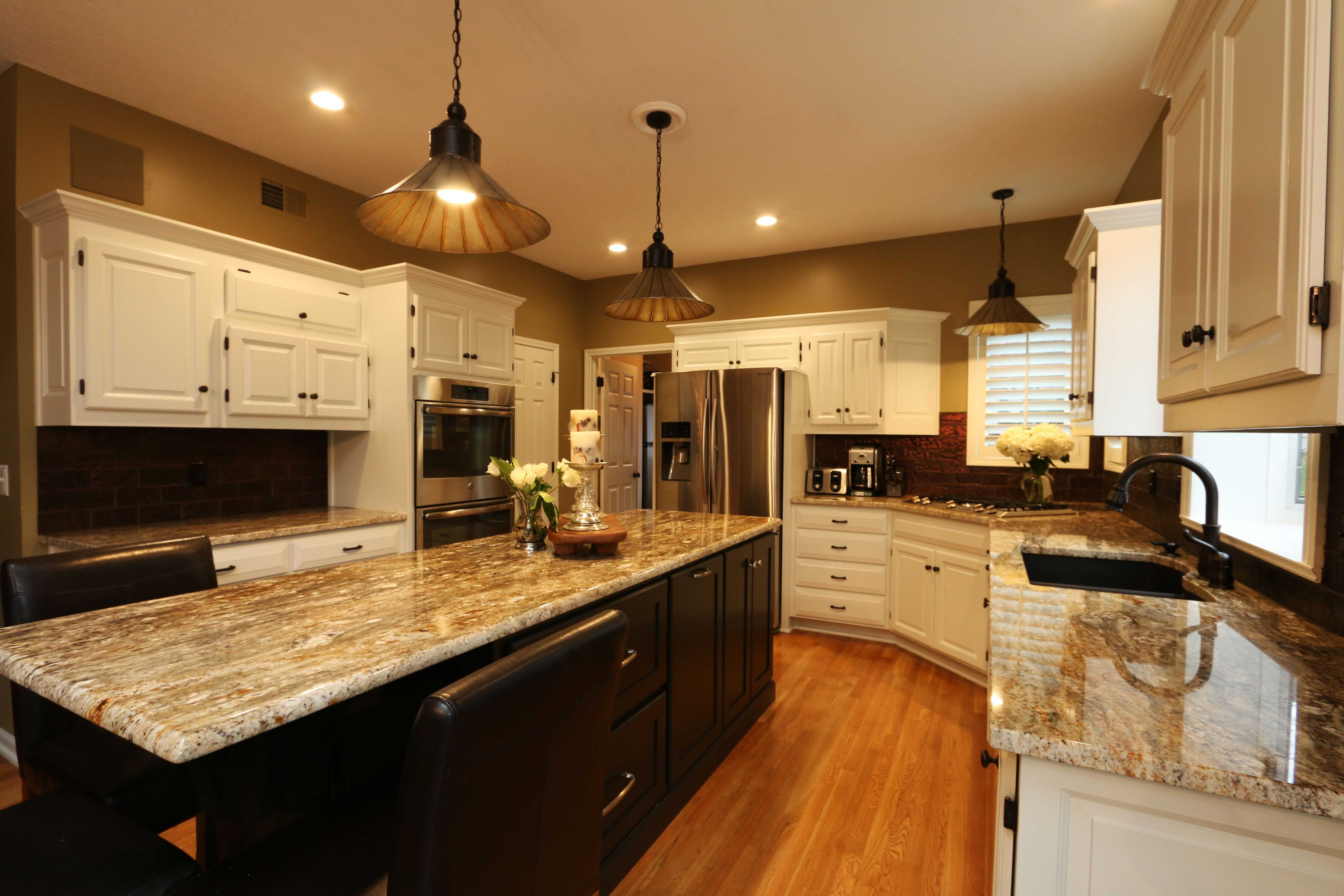 Hand Made Transitional Kitchen Island by Belak Woodworking ...