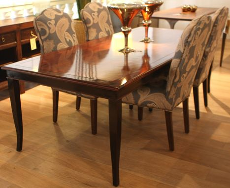 Custom Made French Leg Dining Table