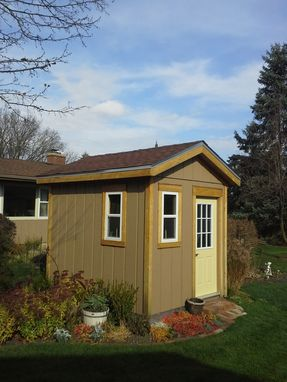 Custom Made Garden Shed