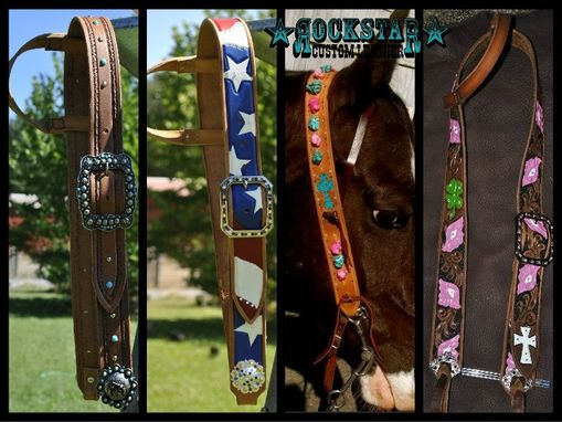 Custom Made Belt Style Headstalls
