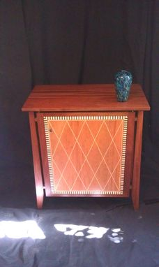 Custom Made Argyle Cabinet
