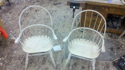 Custom Made Sack Back Windsor Chairs
