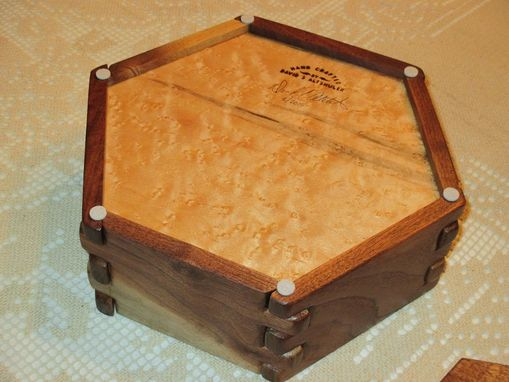 Custom Made Hexagon Box