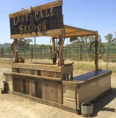 Custom Made Western Bbq Booth