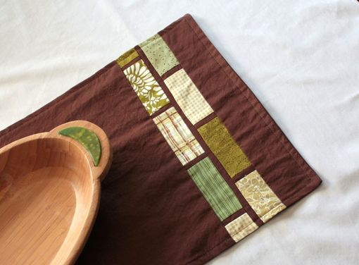 Custom Made Modern Patchwork Table Runner