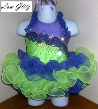Custom Made Custom Glitz Pageant Cupcake Dresses