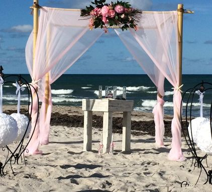 Custom Made Weathered Beach Tables