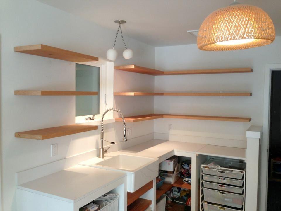 Handmade Bracketless Shelves By Spenchcraft Custommade Com