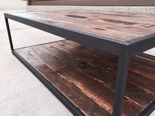 Custom Made Re-Claimed Fir Coffee Table