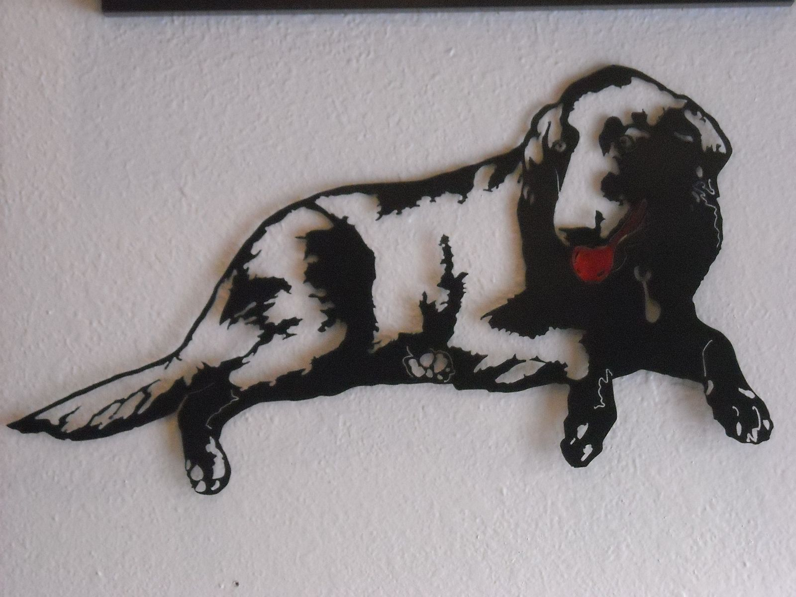 Hand Crafted Dog Metal Wall Art By Superior Iron Artz Llc Custommade Com