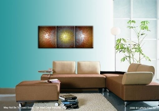 Custom Made Large Original Contemporary Abstract Gold Painting By Lafferty - 20x48, Sale 22% Off