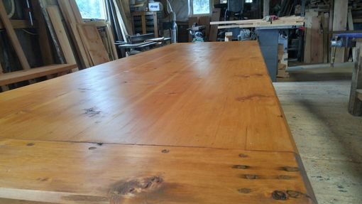 Custom Made For Sale Now:Hand Crafted Timber Framed 12 Ft.Dining / Conference Table