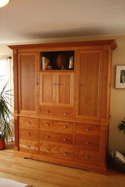 Custom Made Built-In Armoire