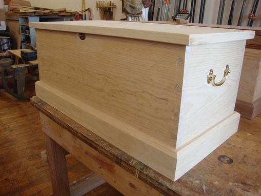 Custom Made Sea Chest / Blanket Chest / Coffee Table
