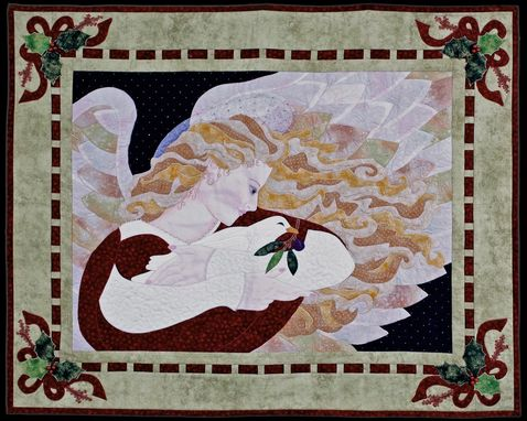 Custom Made Quilt-Angel-Goose